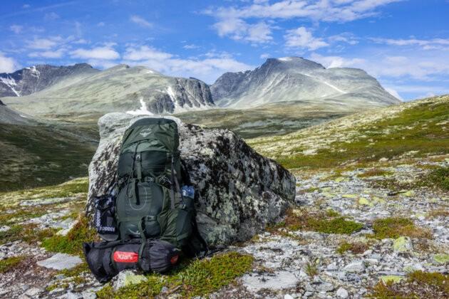 Sbaleny Batoh Trek Norsko