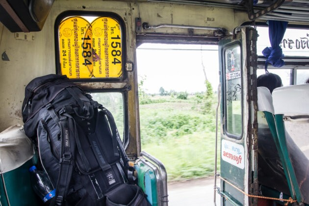 Batoh V autobusu