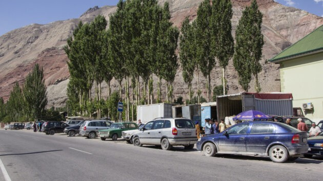 17 Tadzikistan Shared Taxi