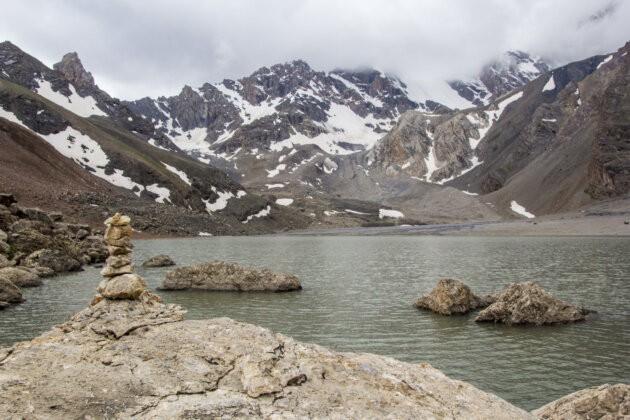 Tadzikistan Voda mutnoe
