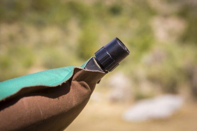 Thermarest Trail Lite Ventil detail
