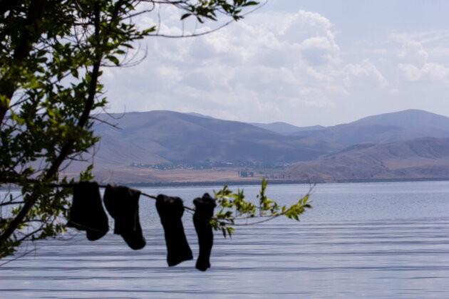 Suseni U Jezera ponozky