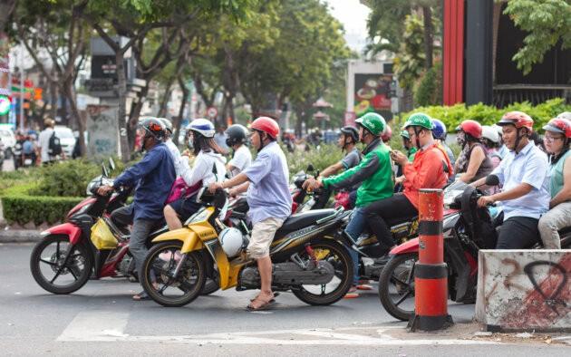 Vietnam Saigon Krizovatka