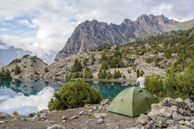 Taboreni U Jezera Alaudin fanske hory