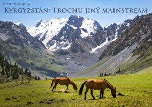 kyrgyzstan kone prednaska plakat