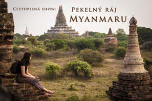 myanmar prednaska plakat pagody