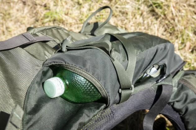 Osprey Aether AG 70 bocni kapsa na lahev s vodou