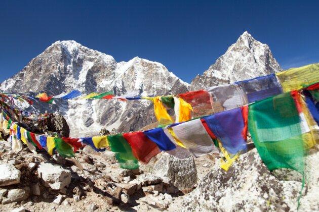 Nepal Motlitby Vlajecky